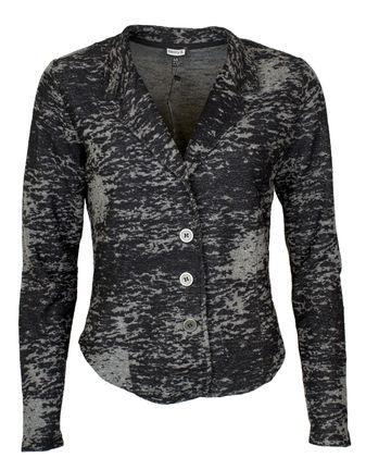 damen jersey blazer langarm blazer jacke jersey von kenny s bei stastny mode online shop. Black Bedroom Furniture Sets. Home Design Ideas