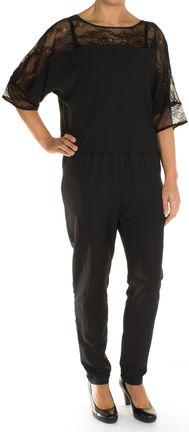 damen overall jumpsuit spitzen einsatz von s oliver bei stastny mode online shop. Black Bedroom Furniture Sets. Home Design Ideas