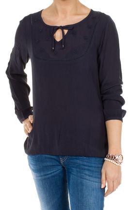 damen tunika bluse shirt oberteil bestickte front von s. Black Bedroom Furniture Sets. Home Design Ideas