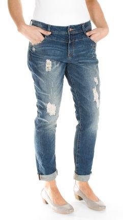 damen destroyed boyfriend jeans hose von s oliver bei stastny mode online shop. Black Bedroom Furniture Sets. Home Design Ideas