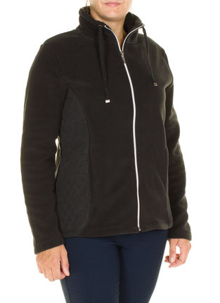 Damen Fleece Jacke langarm
