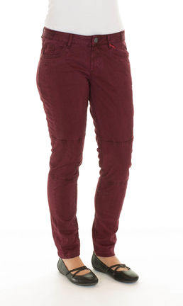 Damen Hose SHAPE SUPERSKINNY (red)