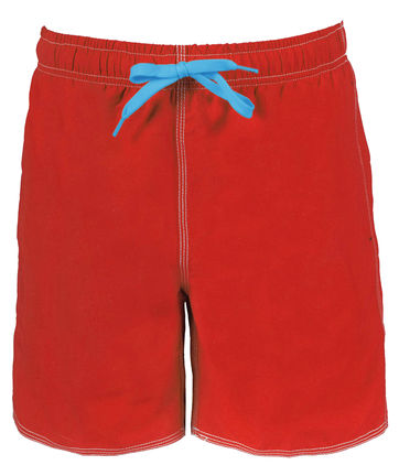 Herren Bade Short FUNDAMENTALS SOLID BOXER