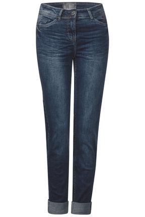 damen jeans hose tight fit denim toronto slim von cecil. Black Bedroom Furniture Sets. Home Design Ideas