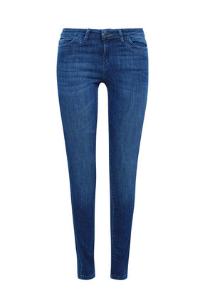 Damen Superstretch Jeans Hose Medium Rise (blue)