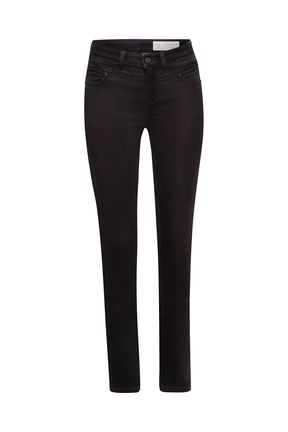 Damen Jeans Hose Slim (black)