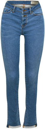 Damen Stretch-Jeans mit Knopfleiste (blue)