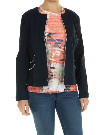 Damen Blazer (navy)