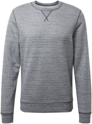 Herren Sweatshirt in Melange-Optik