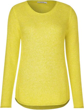 Damen Mouliné Pullover Julianne