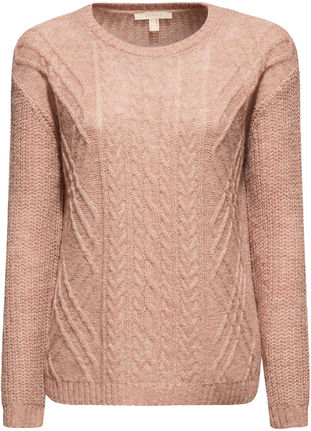 Damen Struktur Pullover mit Wolle von Esprit bei Stastny