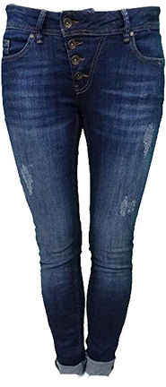 Damen Jeans Hose Malibu stretch denim