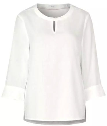 Damen Basic Bluse mit 3/4 Arm