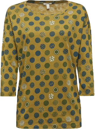 Damen 3/4 Arm Shirt mit Print