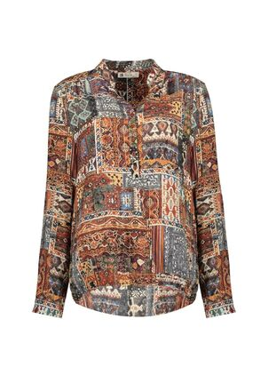 Damen Print Bluse Patch Magical Diversity
