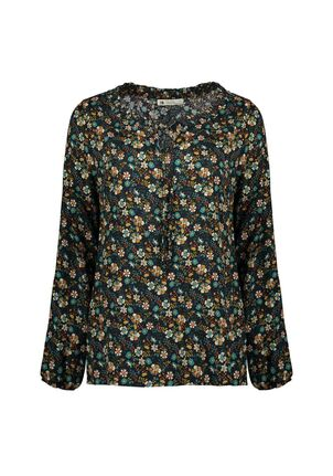 Damen Print Bluse Flower Magical Diversity