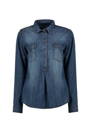 Damen Denim Bluse Magical Diversity