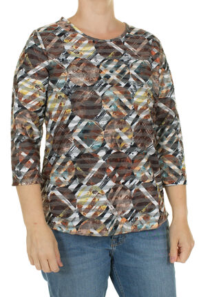 Damen Shirt 3/4 Arm