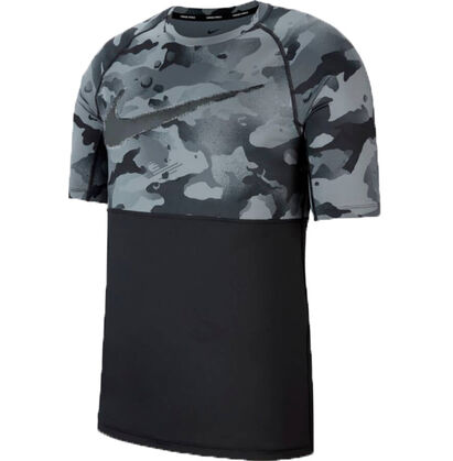 Herren  Slim Fit Shirt Camouflage TOP SS SLIM CAMO