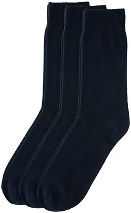 Unisex Socks 3er-Pack (navy)